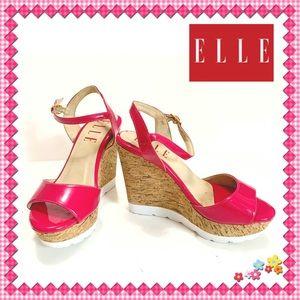 Elle Cork Platform Sandals